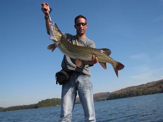 La rivière ladyrka la pêche